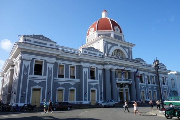 Casa del Fundador vid Parque José Martí, Cienfuegos.