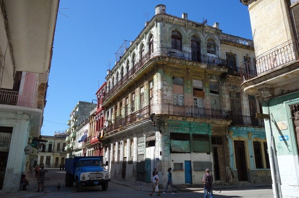 Bild från kvarteret där jag bor, Centro Habana.