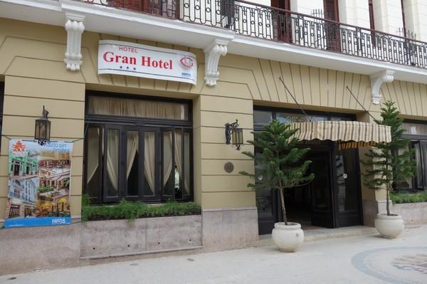 Gran Hotel längs gågatan Calle Maceo i centrala Camagüey.
