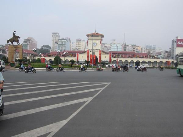 Ben Thanh Market, centrala Saigon.