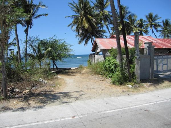 National Highway mellan San Juan, La Union och Vigan, Ilocos Sur.