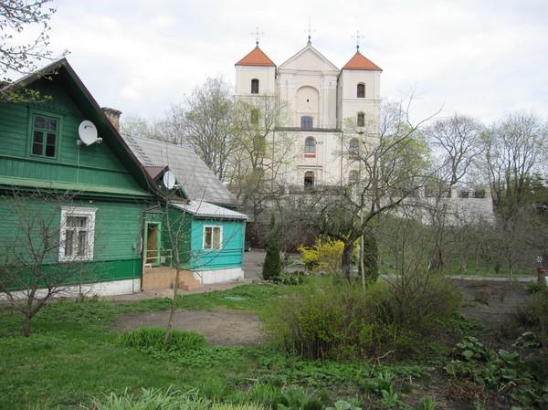 På väg till slottet, Trakai.
