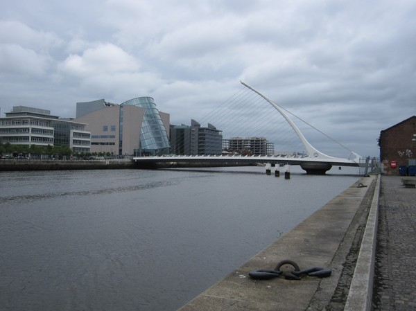 The Liffey, Dublin, Irland.