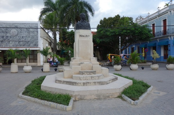 Plaza Maceo i centrala Camagüey.
