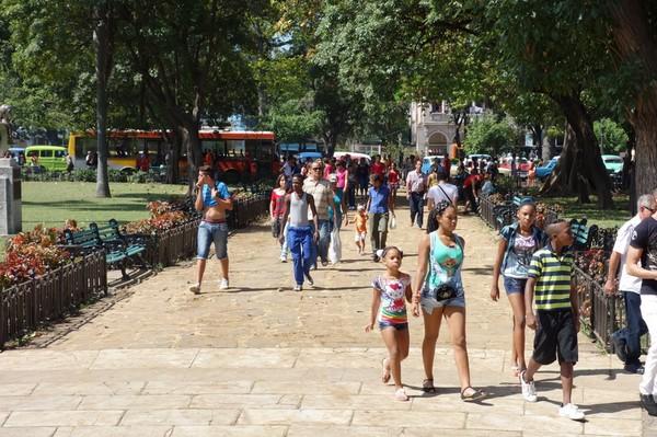 Parque de la Fraternindad, Centro Habana, Havanna.