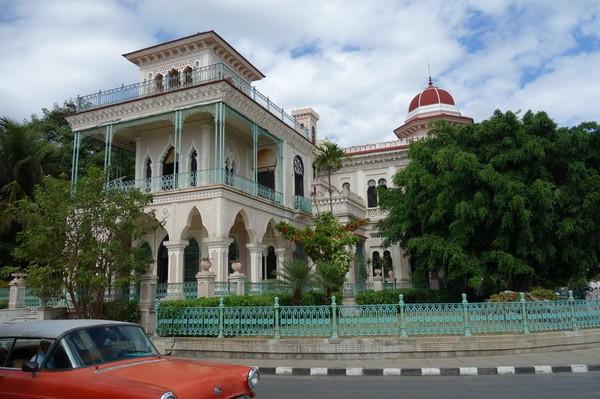 Palacio de Valle byggt 1917, Punta Gorda, Cienfuegos.