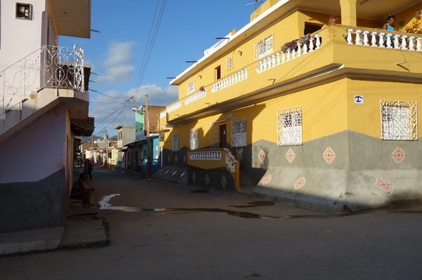 Gatuscen i centrala Trinidad.