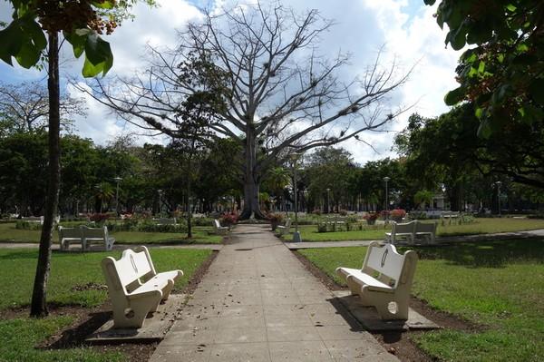 Parque Casino Campestre i södra delen av Camagüey.
