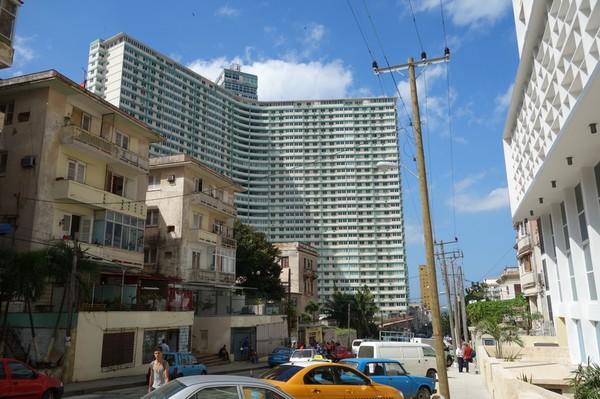 Edificio Focsa, Vedado, Havanna.