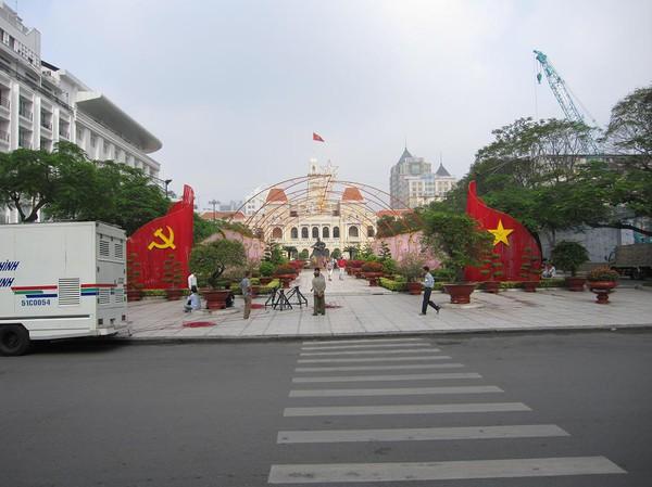 City hall, Saigon.
