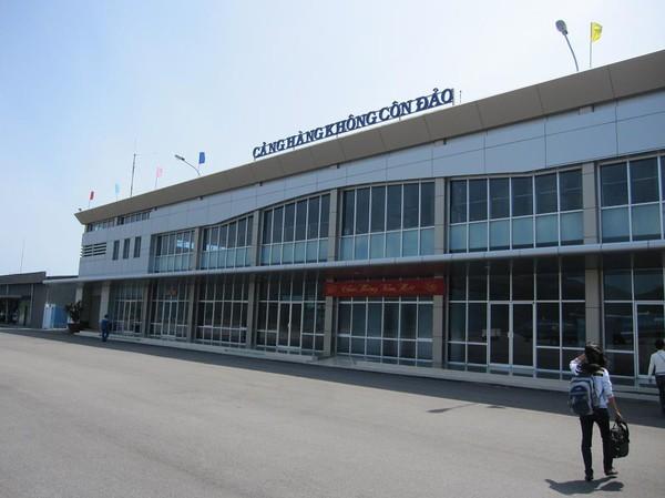 Flygplatsterminalen, Con Son island.