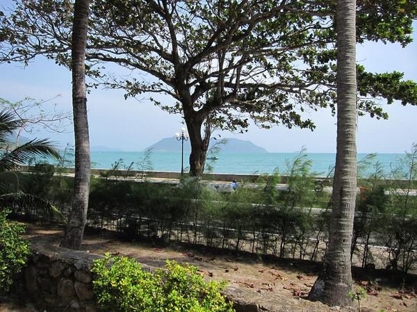 Utsikt från rummet på ATC resort.