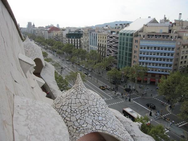 La Pedrera (Casa Milà), Barcelona.