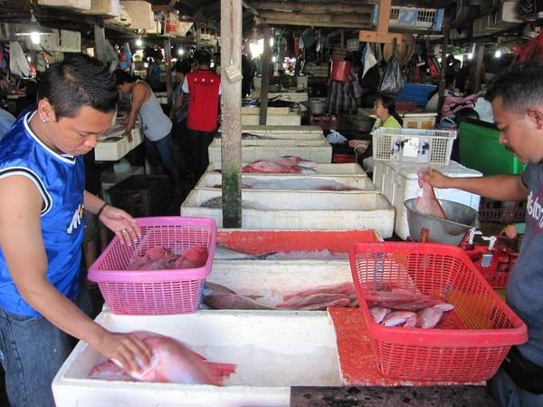 Jimbaran fish market, Bali.