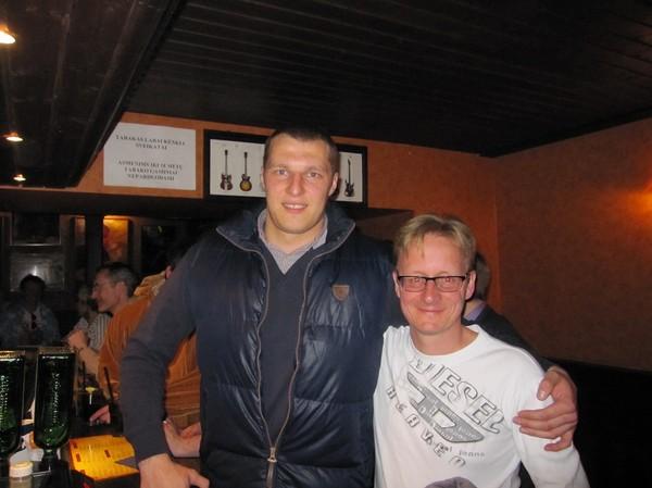 Sergej den store och Stefan, Brodvejus, Vilnius.