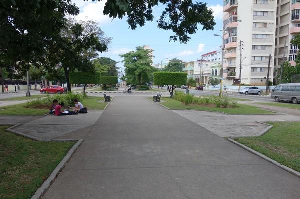 Av de los Presidentes, Vedado, Havanna.