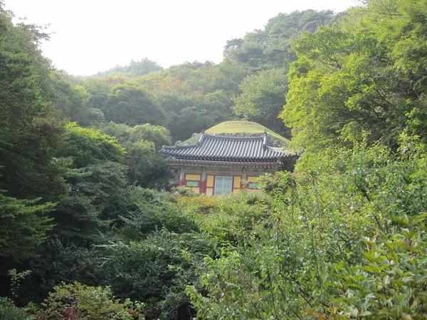 Den i Korea så berömda Seokguram Grotto. Innehåller en stor Buddha som tittar ut över Sea Of Japan, eller Sea Of Korea om du frågar en Korean!