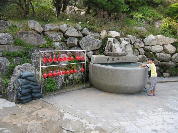 Mineralvattenkälla, Seokguram Grotto.