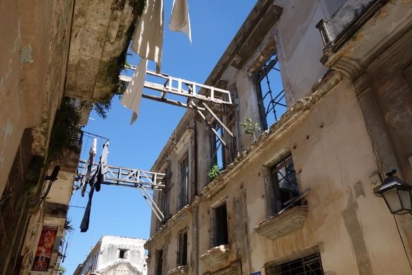 Byggnader i akut renoveringsbehov, Habana Vieja, Havanna.