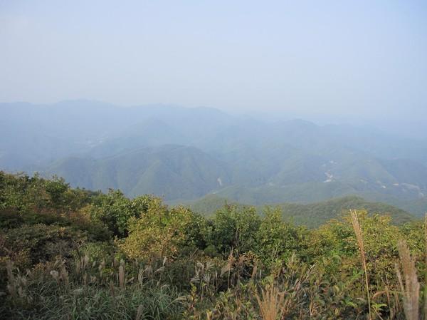 Vy från Tohamsan peak.