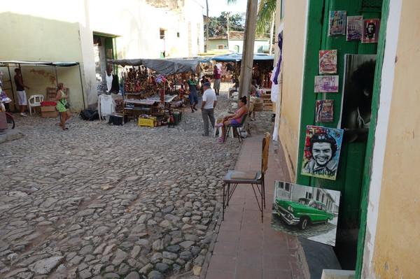 Marknaden i centrala Trinidad.