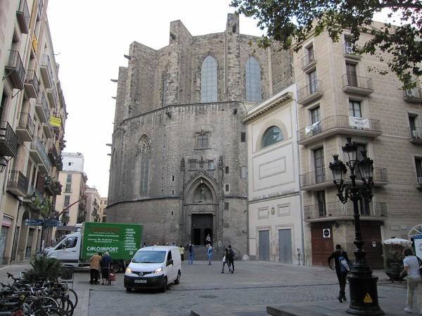 Basilikan Santa Maria del Mar, Barcelona.