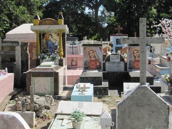 Platsen för massakern av den Indonesiska militären den 12 november 1991, Santa Cruz cemetery, Dili.