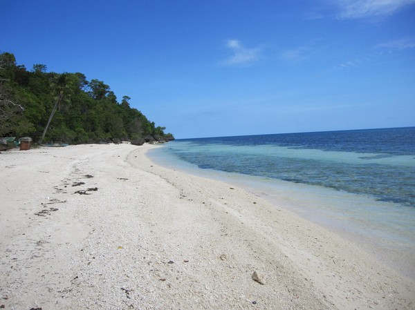 Kagusua beach, Siquijor.
