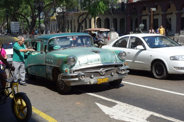 Gamla slitna jänkare, Centro Habana, Havanna.