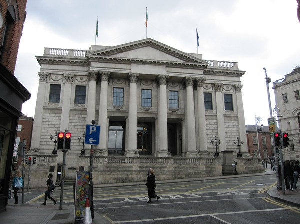 City Hall, Dublin, Irland.