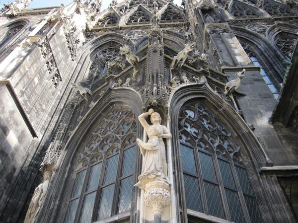 Detaljer, Stephansdom, Wien.