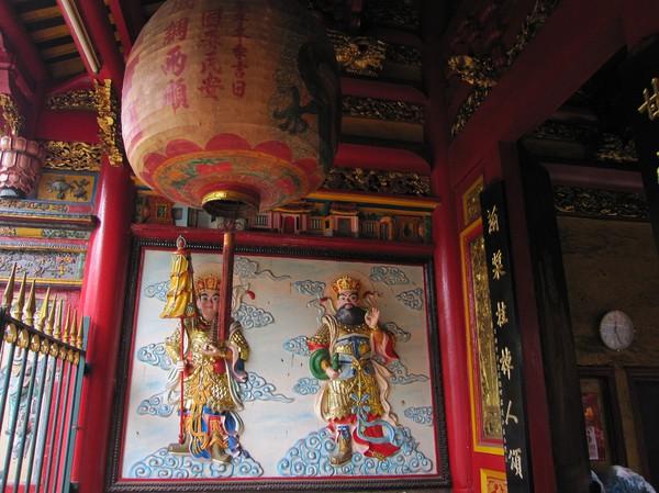 Inuti Quan Am pagoda, Cholon.