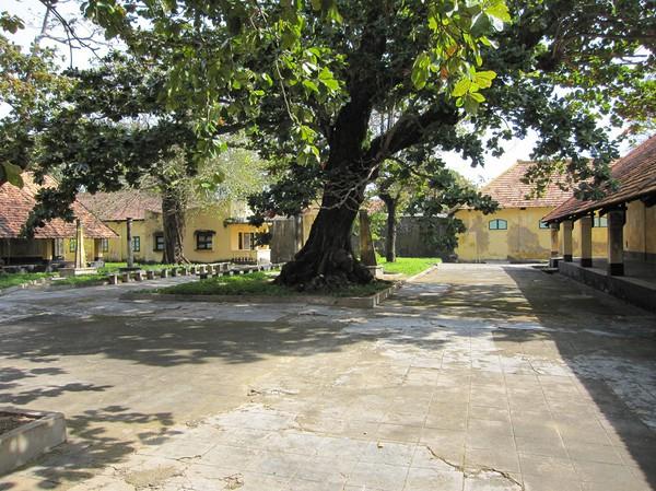 Phu Hai prison, det största av öns elva fängelser, Con Son town.