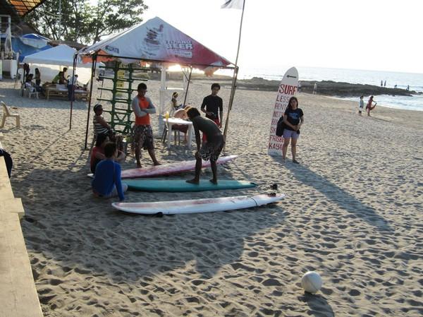 Surflektioner, San Juan.