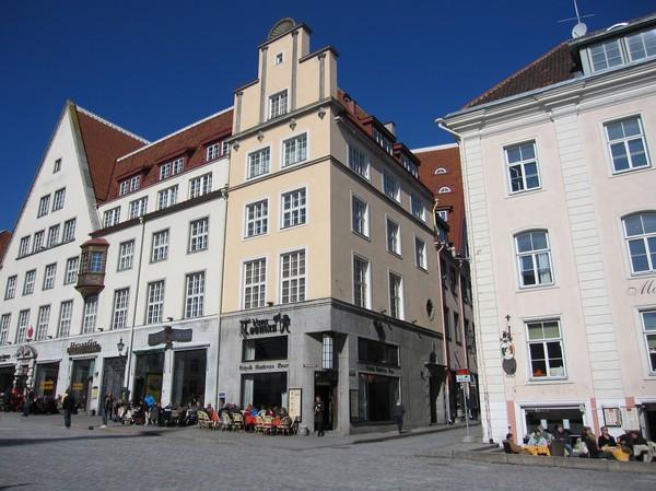 Raekoja plats, gamla staden, Tallinn.