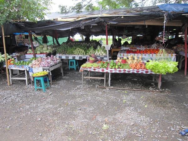 Marknaden, centrala Dili.