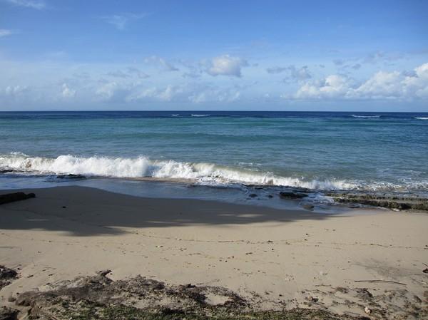 Stranden i Com, Timor-Leste.
