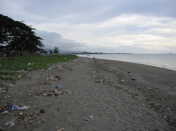 Stranden centrala Dili.
