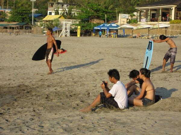 Redo för surf, San Juan.