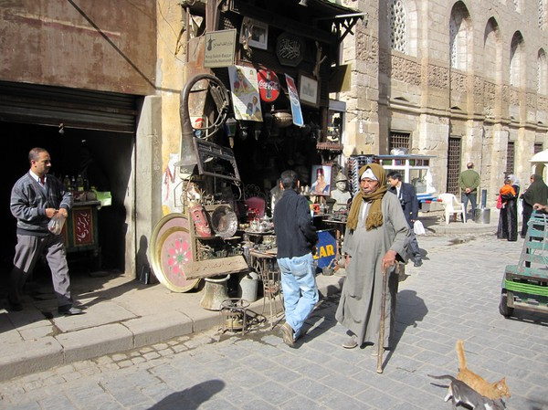 Gatuscen islamic Cairo, Kairo.