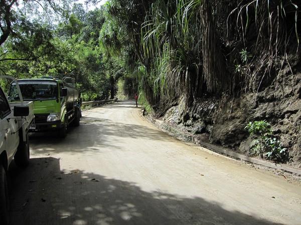 Vägen mellan Dili och Baucau.