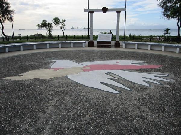 Monument över självständigheten, centrala Dili.