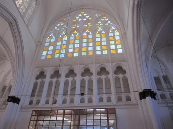 Inne i Selimiye mosque i den turkcypriotiska delen av Nicosia.
