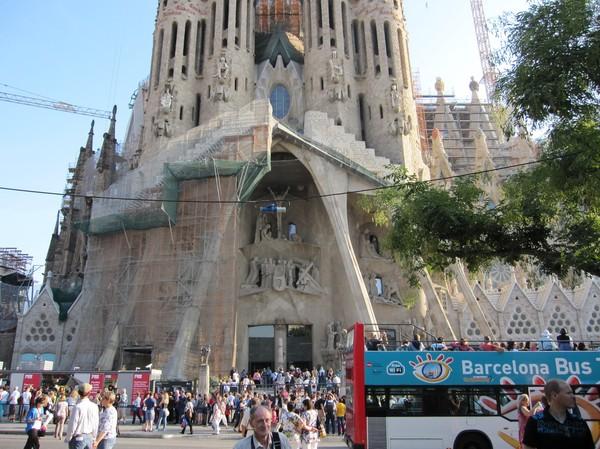 Sagrada Familia, Barcelona.