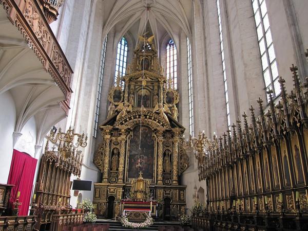 Church of St Catherine, västra Kazimierz, Krakow.