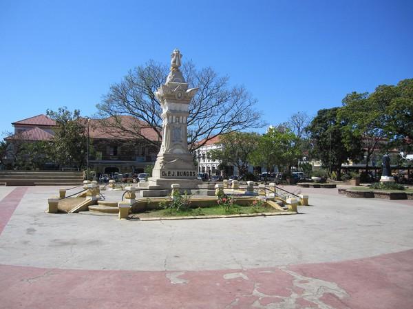 Plaza Burgos, Vigan.