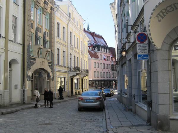 Gatuscen gamla staden, Tallinn.