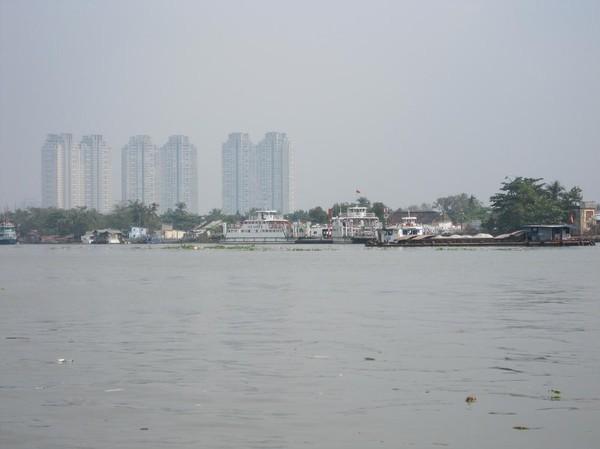 Saigon river, Saigon.