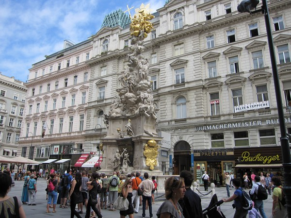 Peststatyn Graben, Wien.