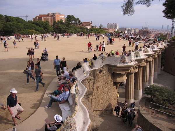 Parc Güell, Barcelona.